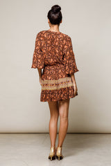 Hazel Mini Dress - Paisley