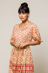 Violet Tunic Sunflower - Beachgold