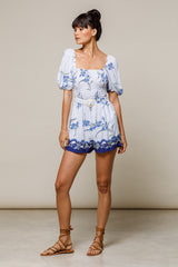 Lillia Playsuit Orchid