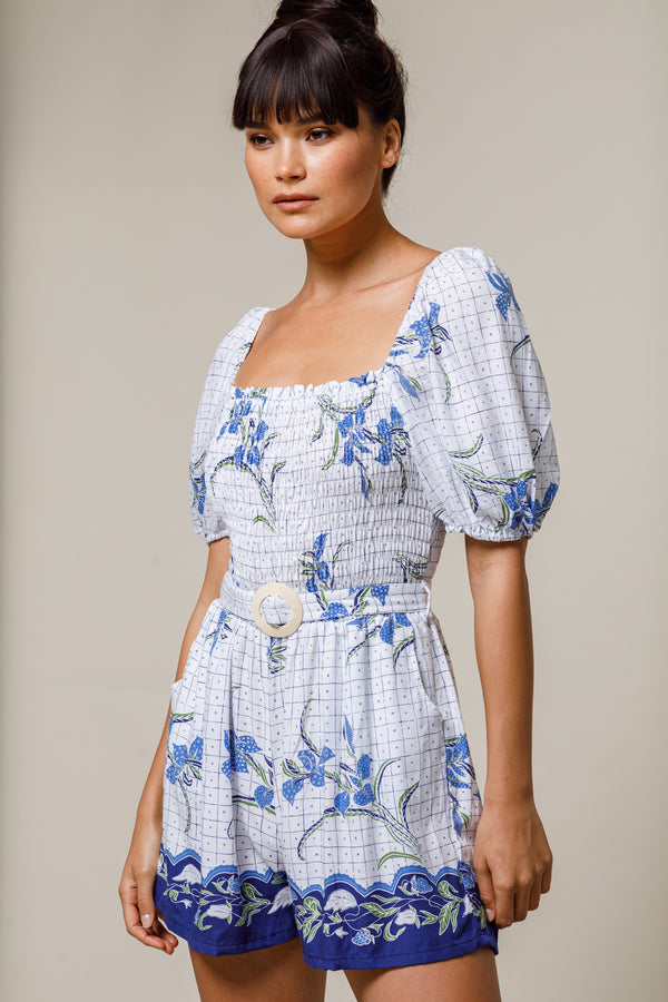 Lillia Playsuit Orchid - Beachgold