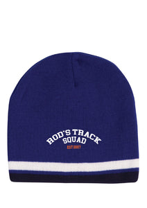 ROD'S TRACK SQUAD - Beanie - Royal ** available to order now**