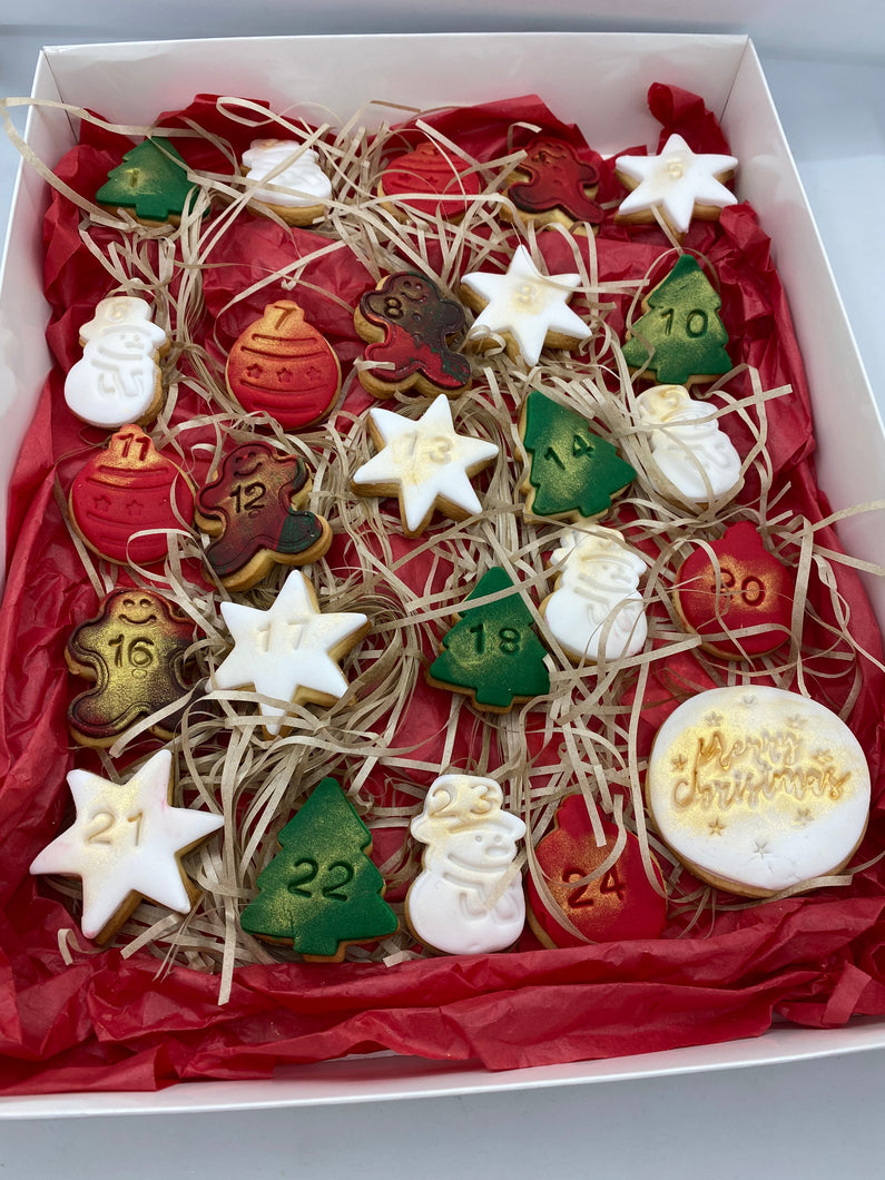 Cookie Christmas Advent Calander
