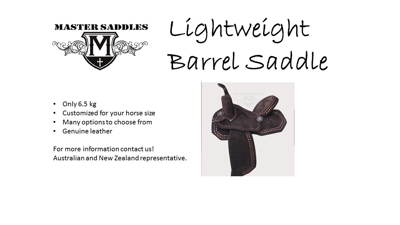 Lighweight saddle