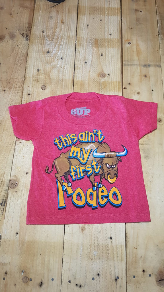 Kids T-shirt - This ain't my first rodeo