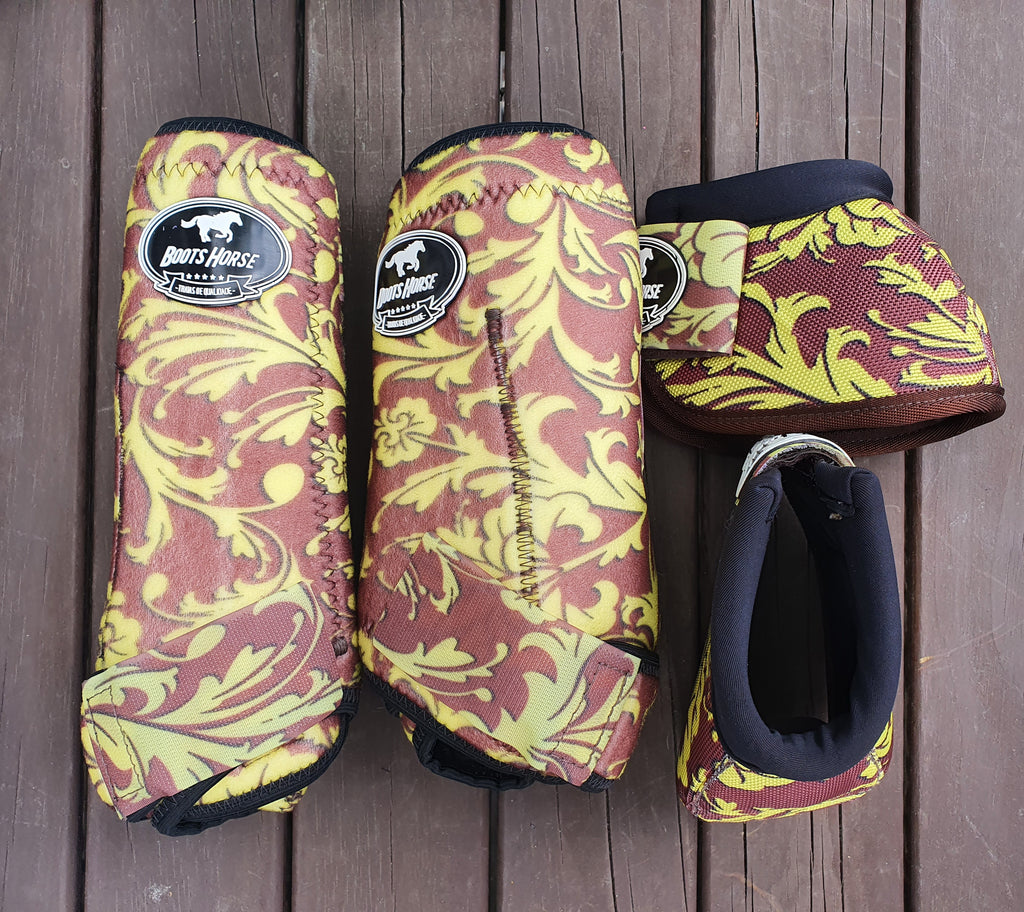 Boots paper yellow