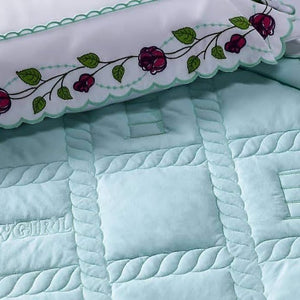 Coverlet Set Barrel Cowgirl
