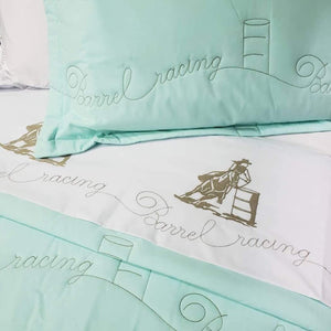 Coverlet Set Barrel Racing