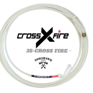 Cross Fire Heel Rope - four strand