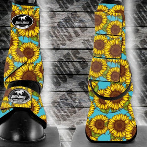 Sport Medicine boots -  Sunflowers (New)