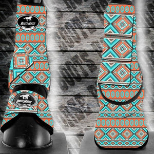 Bell Boots (no turn) - Tribal (New)
