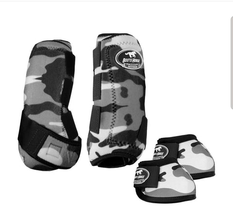 Sport Medicine boots - Camouflage Grey