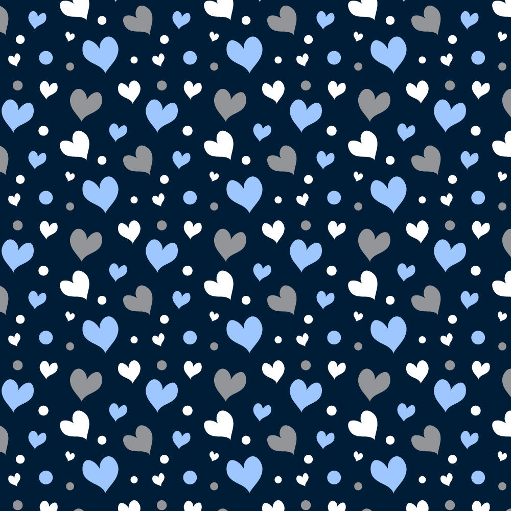Latigo set - Blue Hearts