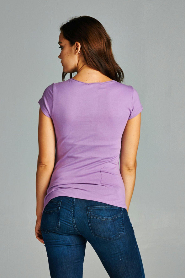 Women's Jersey Short Sleeve Top