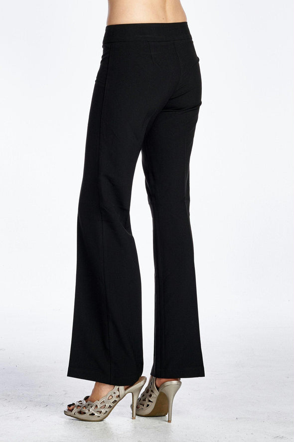 Women's Button Detail Stretch Pants