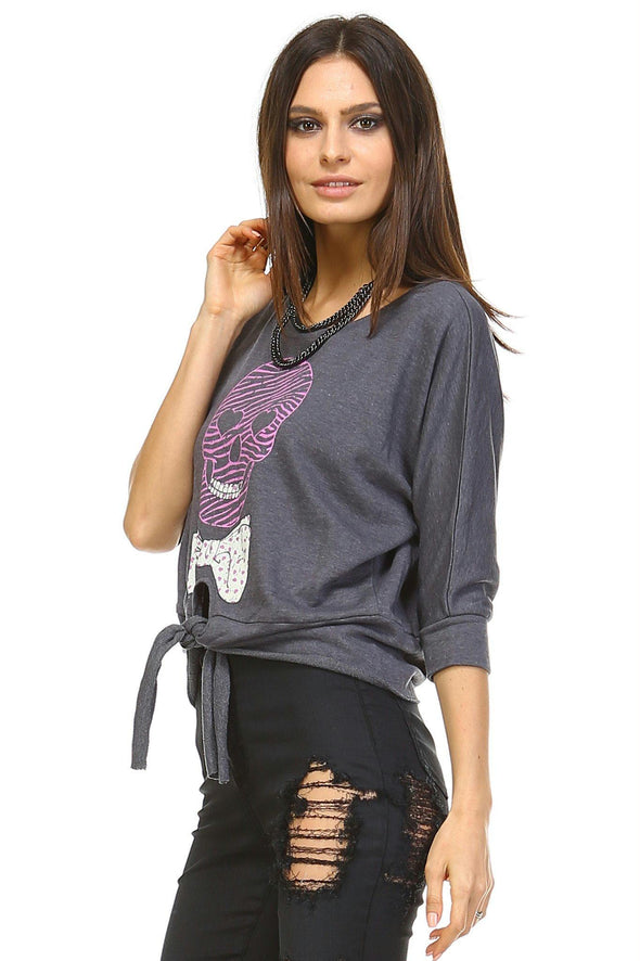 Women's Front Tie Sweater