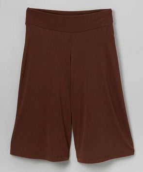 Girls Brown Stretchy Pants at Clotheschica.com