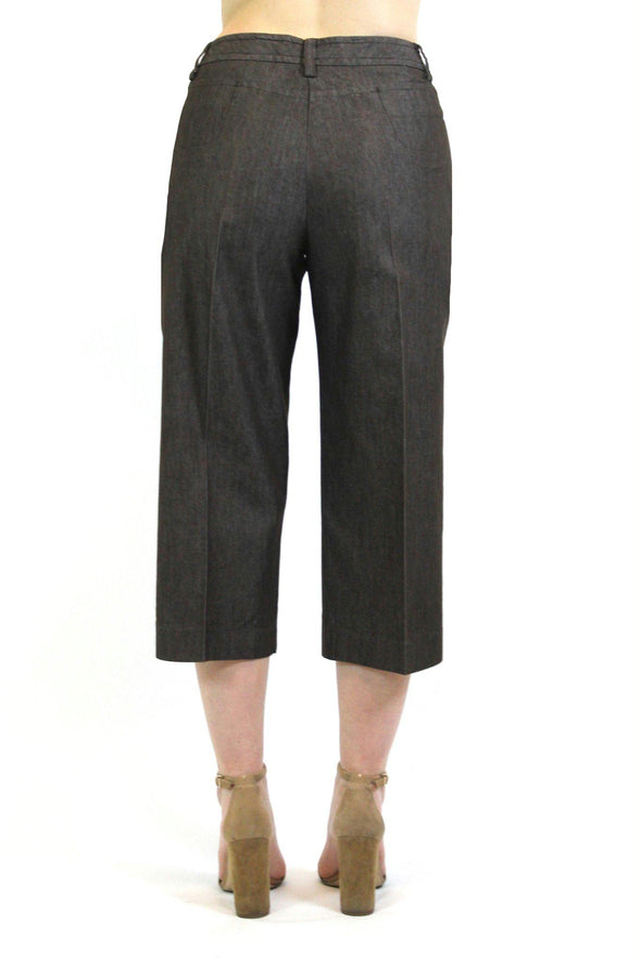 Women's Crop Pocket Capri Pants