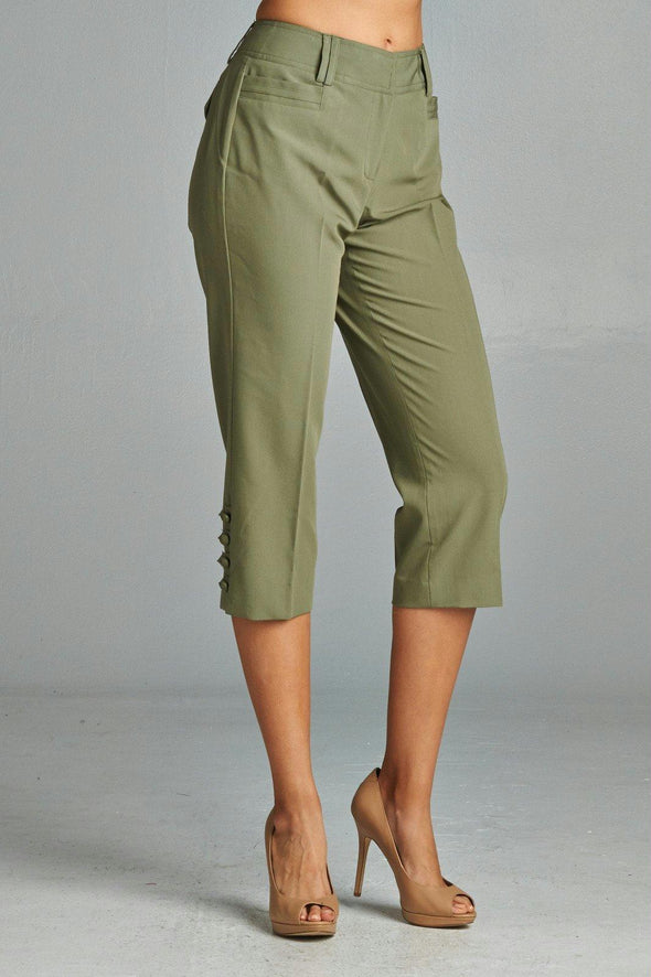 Larry Levine Sleek & Slim Capris