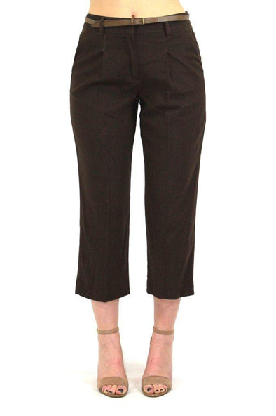 Women's Larry Levine Pleated Trouser