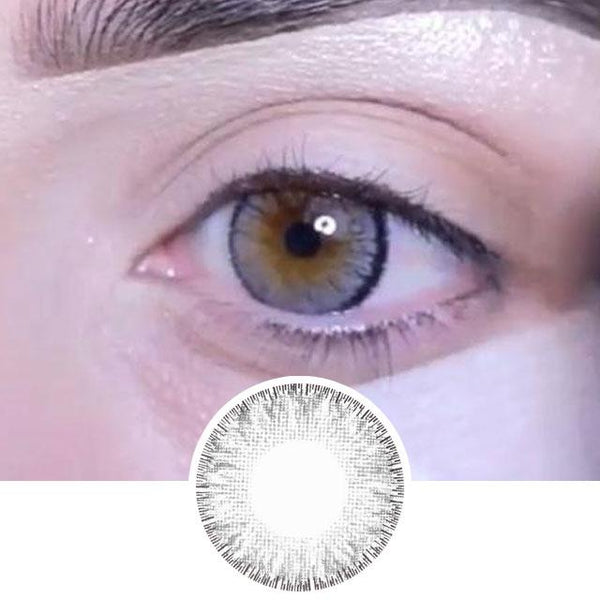 Grey Colored Contacts For Astigmatism - 4 Tone
