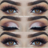 4 Tone Brown Colored Contacts
