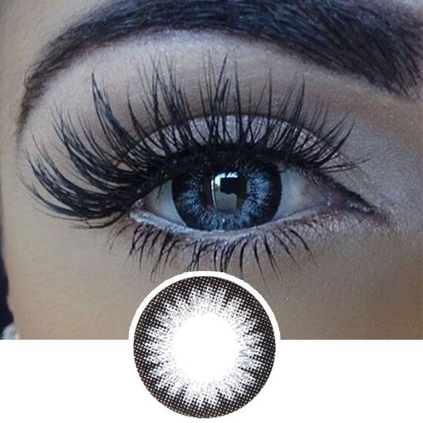Grey Color Contact Lenses 2 Tone