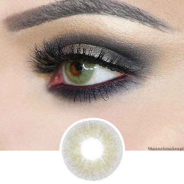 Khaki Green Color Contact Lenses - Cotton Series
