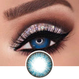 Blue Color Contact Lenses - Natsumi