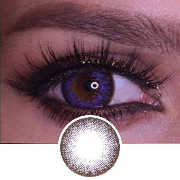 Violet Colored Contacts - Natsumi