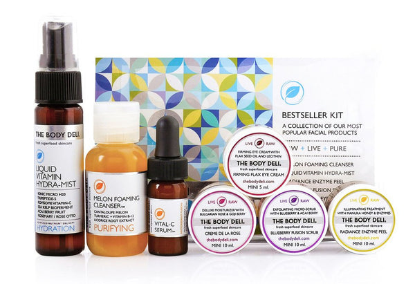 BESTSELLER MINI FACIAL KIT