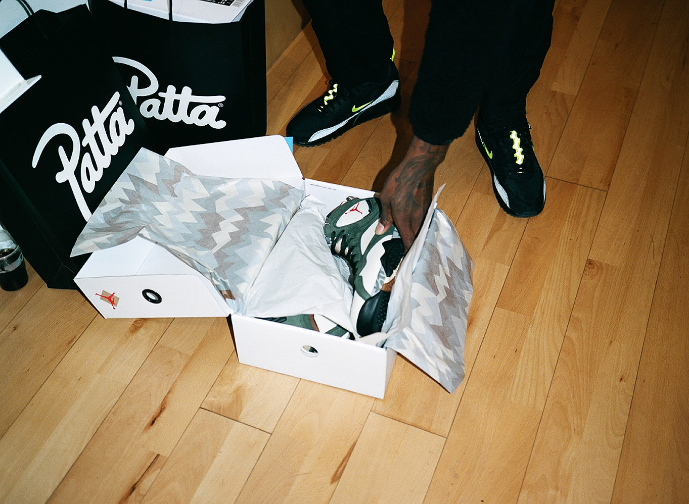 PATTA X AIR JORDAN VII ICICLE UPDATE