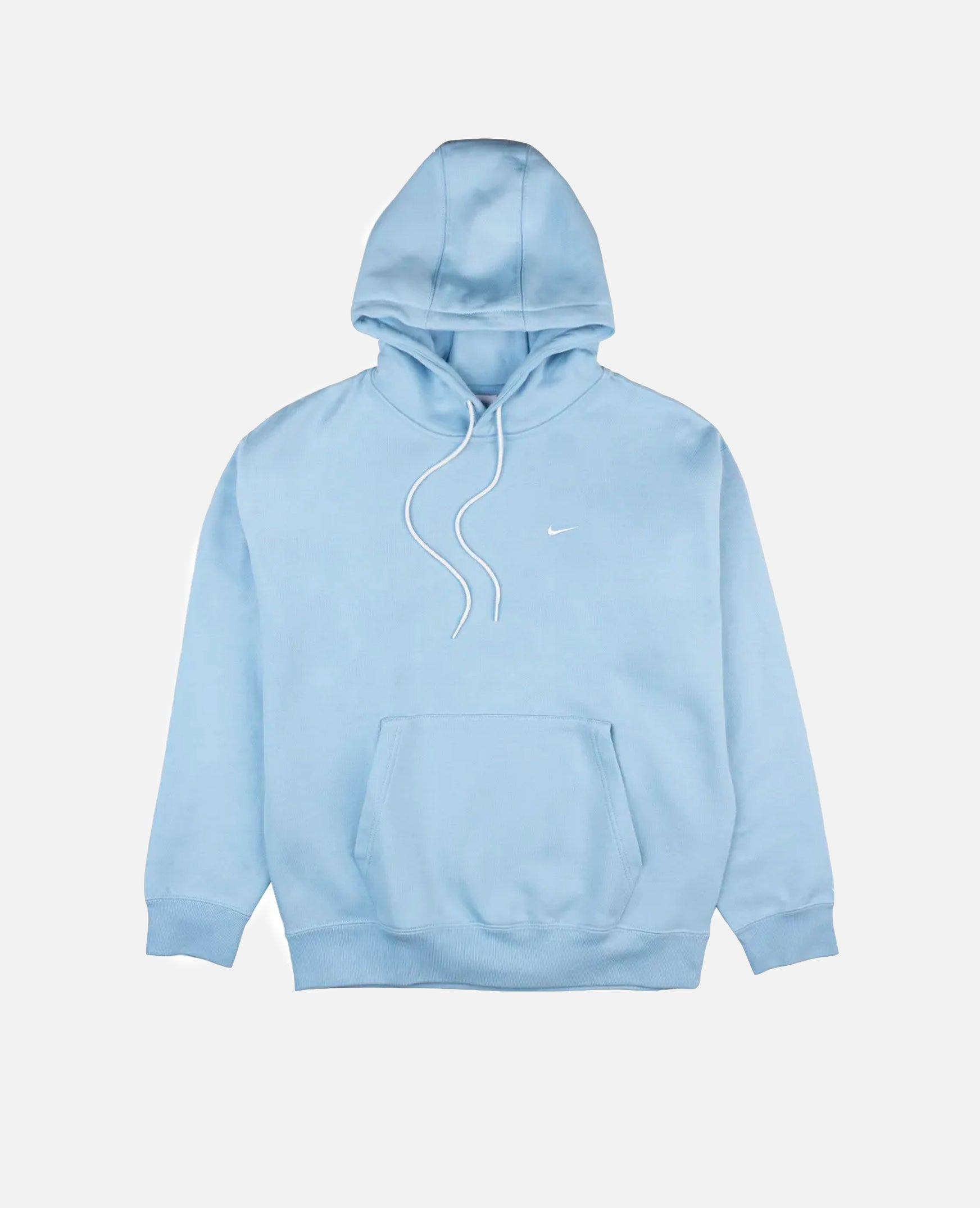 Nike NRG Solo Swoosh Fleece Hooded Sweater (Psychic Blue/White)