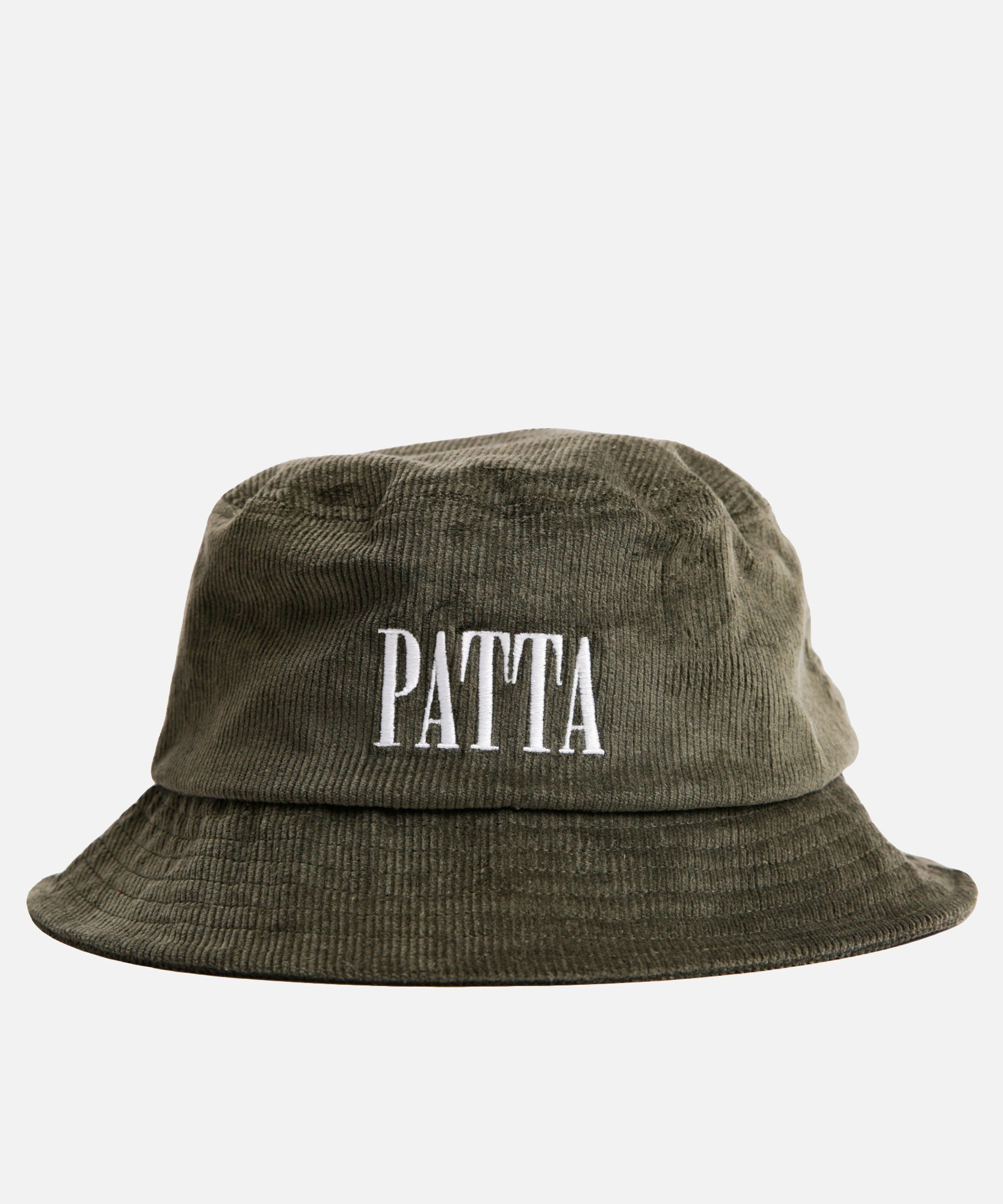 Patta Corduroy Bucket Hat (Rifle Green)