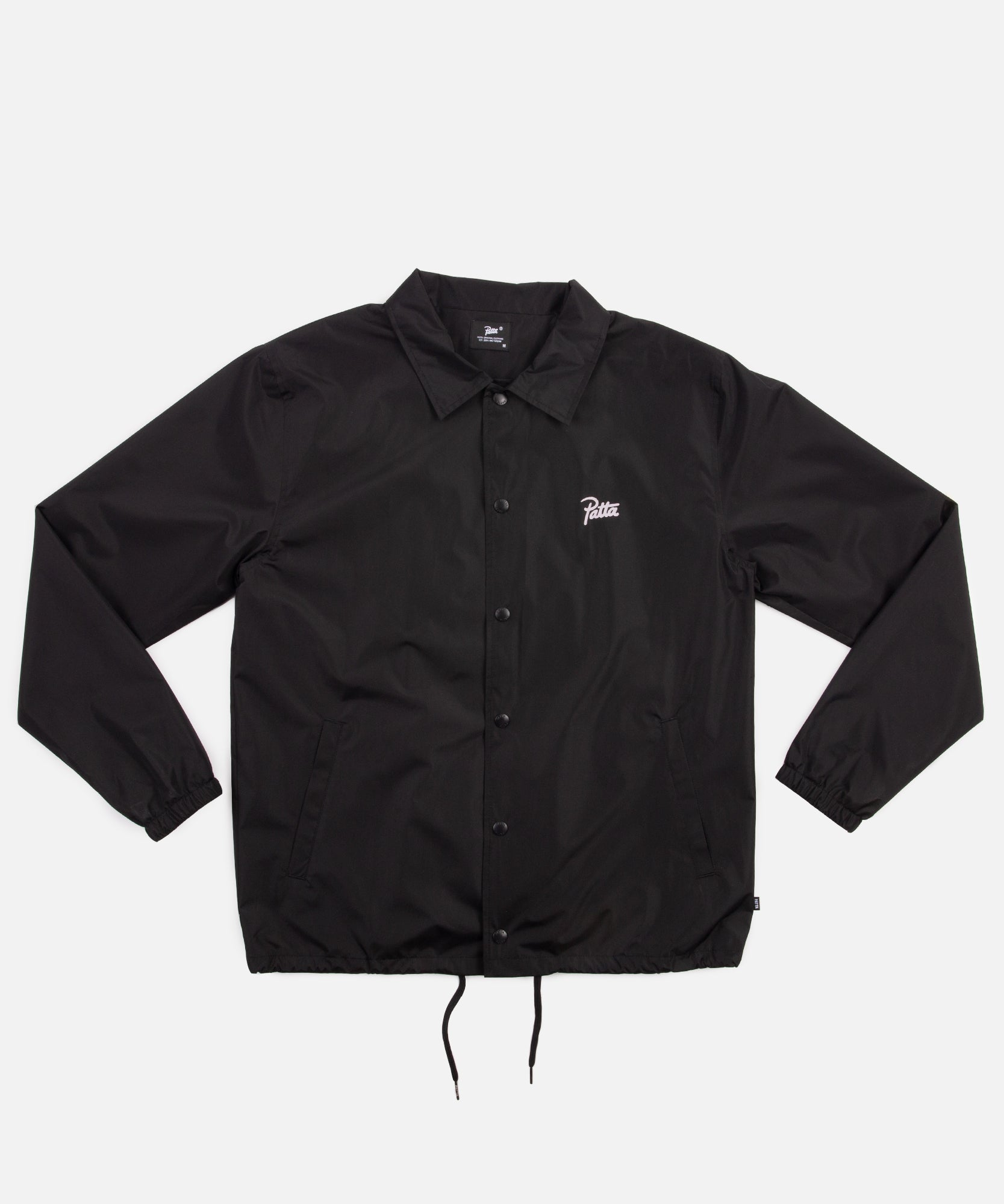 Patta Basic Coach Jacket (Black)
