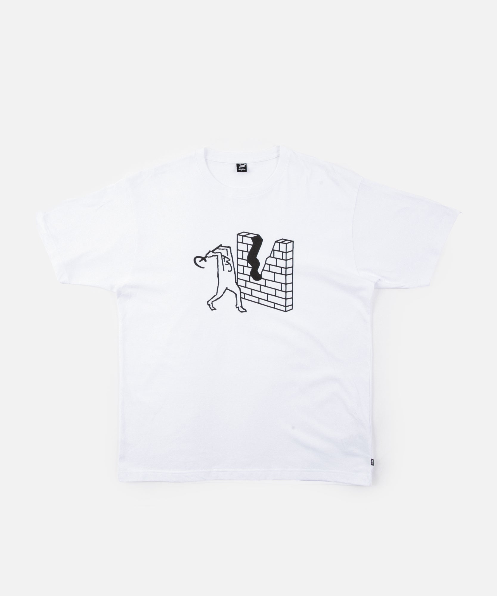 Patta Wall T-Shirt (White)