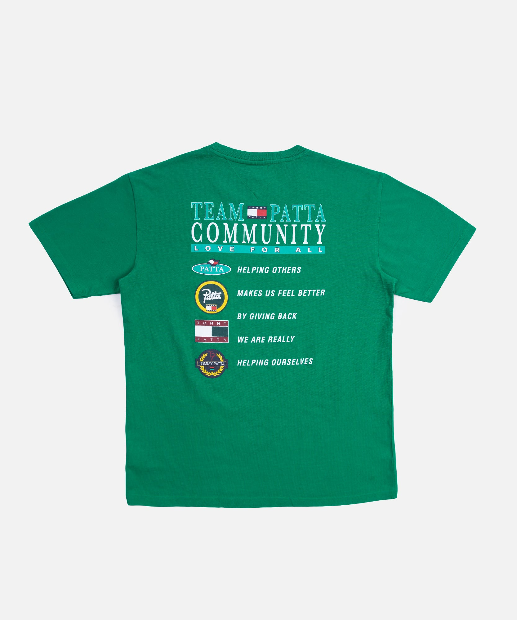 Patta x Tommy Community T-Shirt (Jelly Bean)
