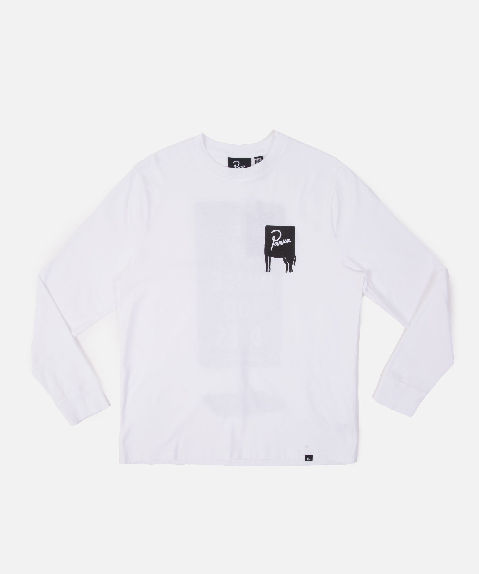 by Parra Joy Inside Longsleeve (White)