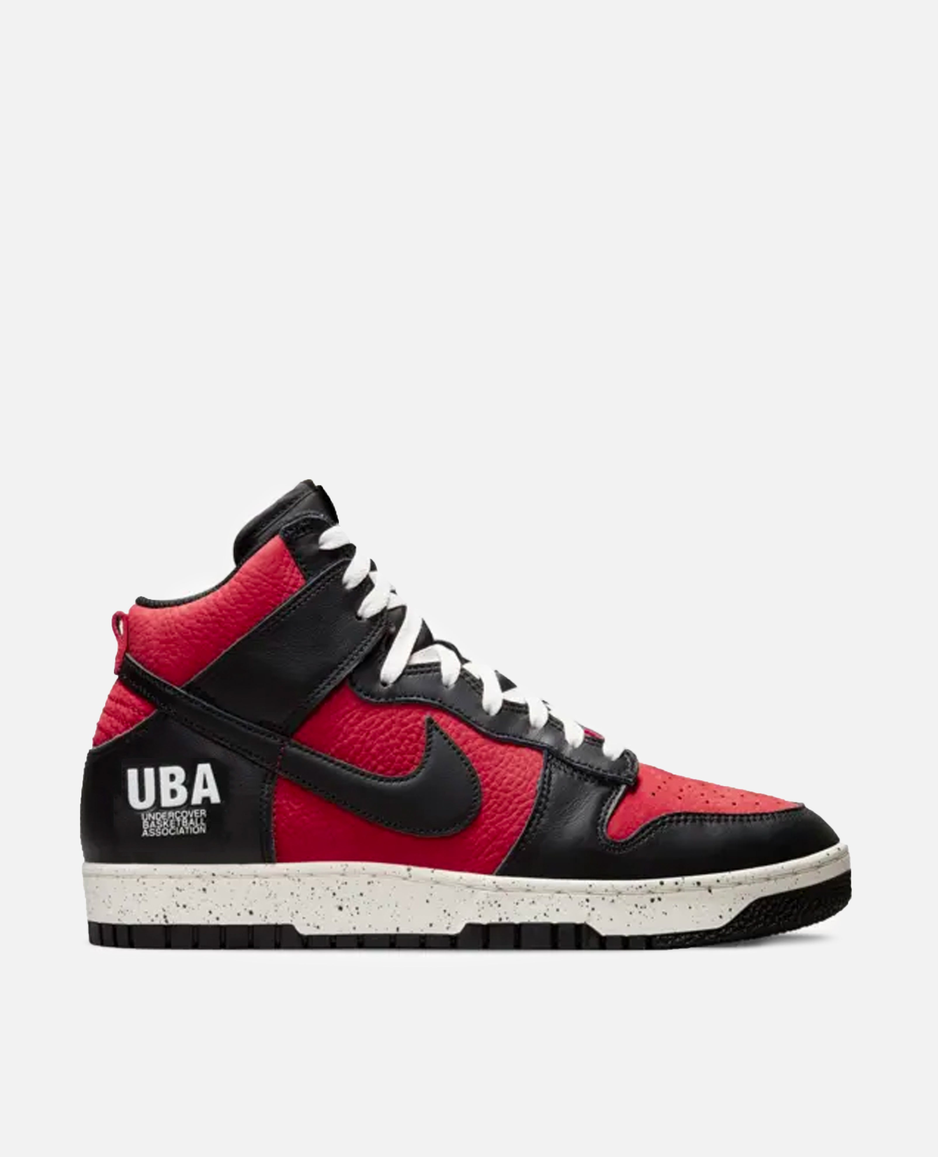 Nike x Undercover Dunk High 1985 (Gym Red/ Black-White)