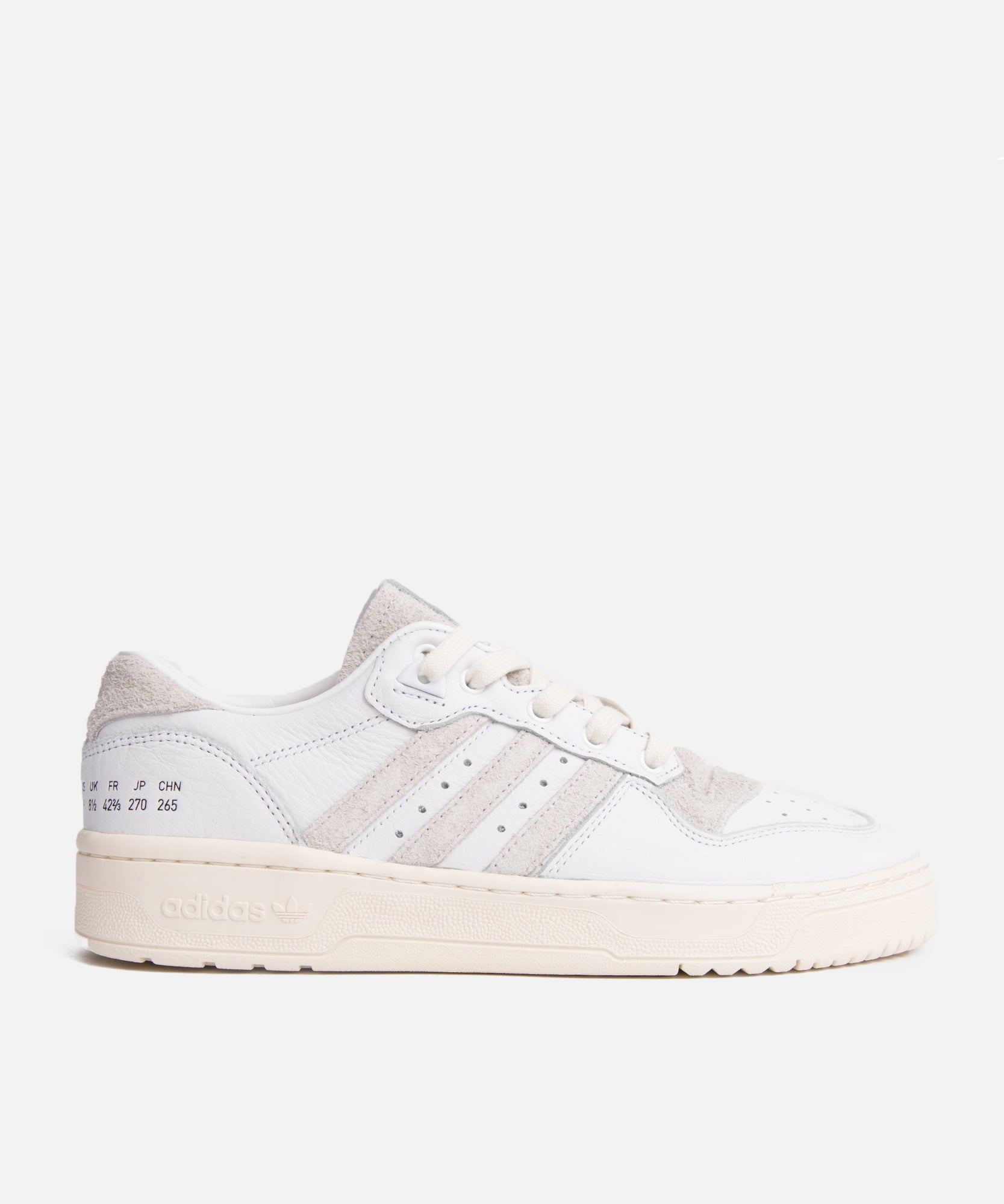adidas Rivalry Low (Cloud White/Crystal White/Off White)