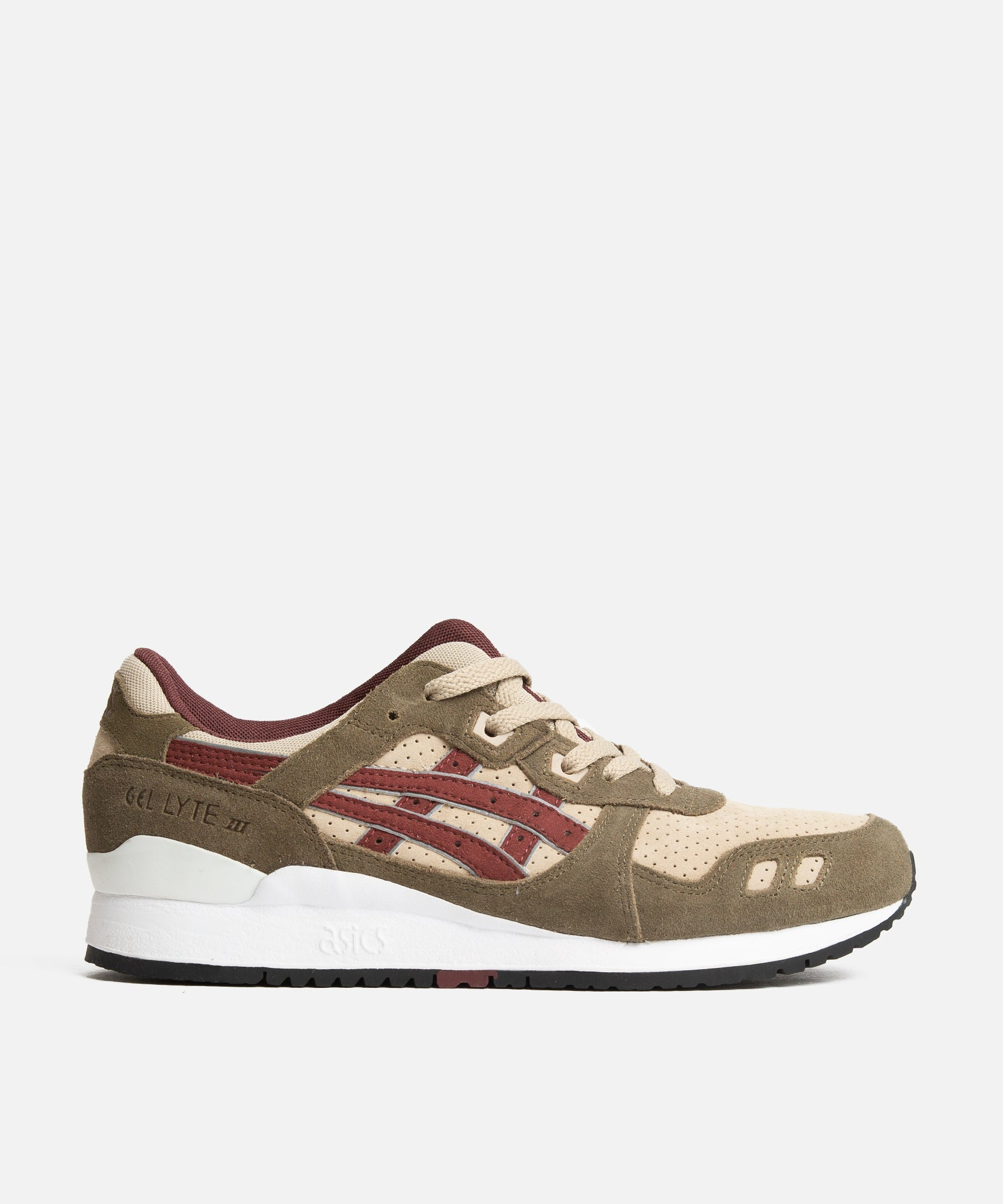 ASICS Gel-Lyte III (Birch/Burgundy)
