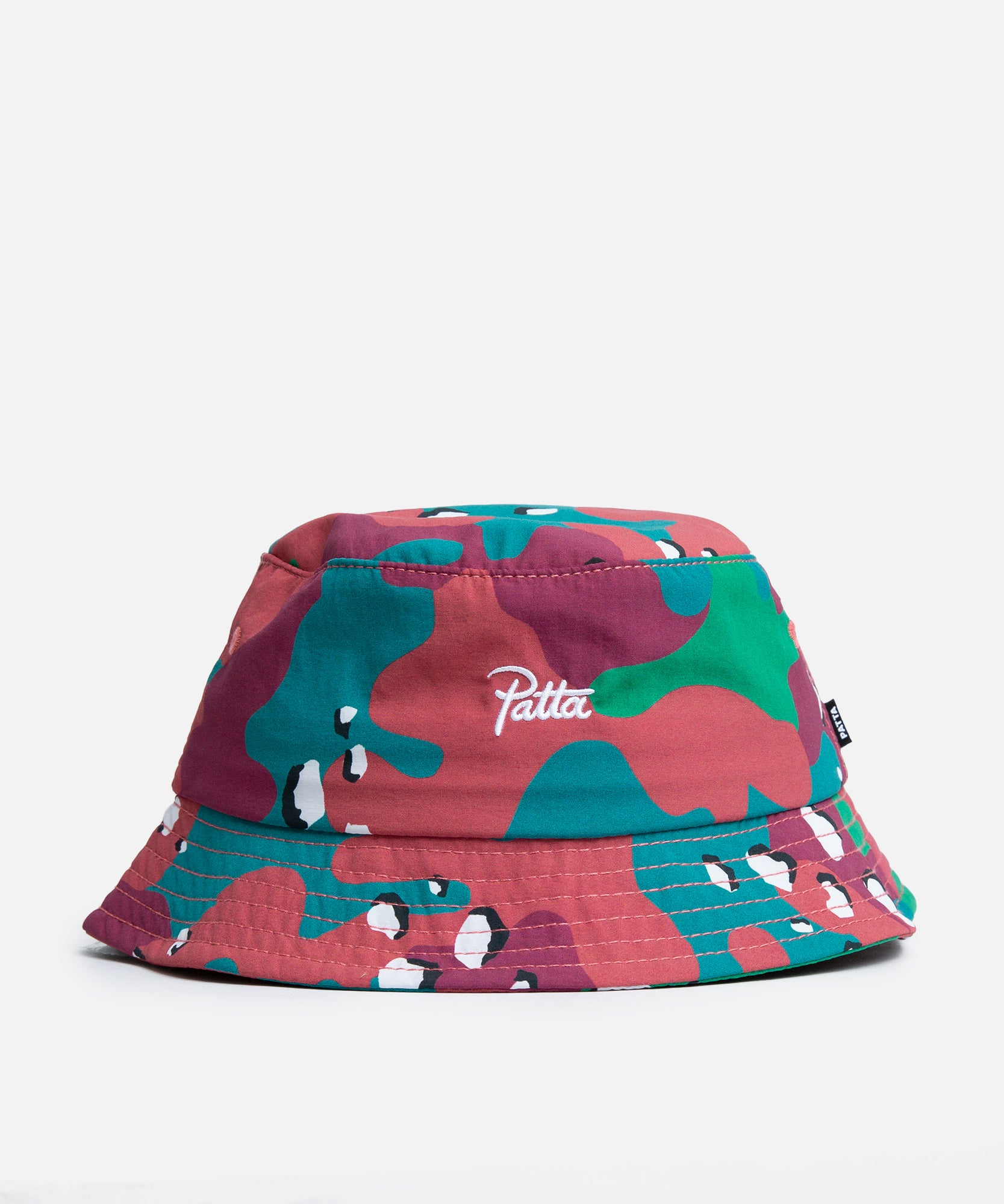 Patta Nylon Bucket Hat (Camo/Multi)