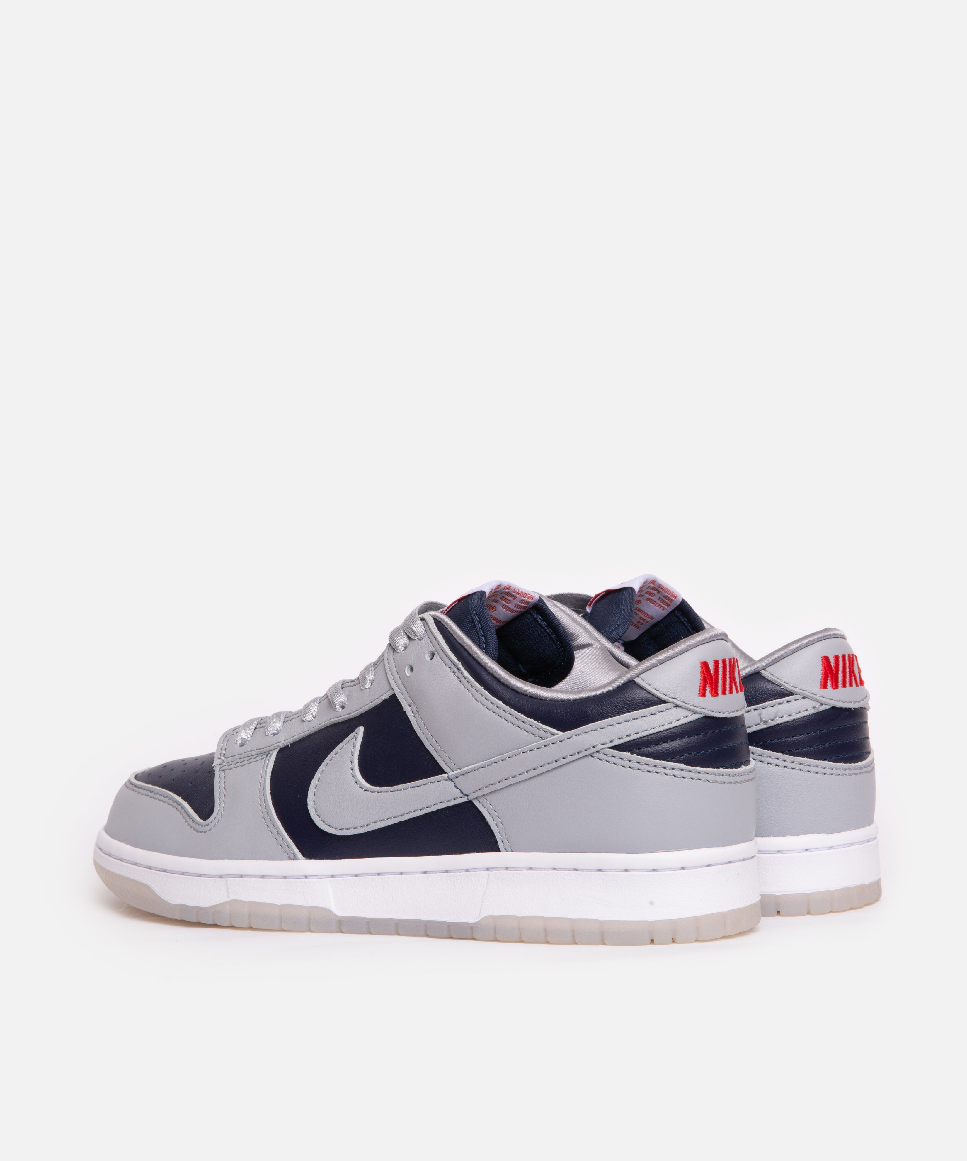 WMNS Nike Dunk Low SP (College Navy/Wolf Grey-University Red)