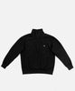 Patta Polartec Grid Pullover Track Jacket (Black)