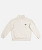 Patta Polartec Grid Pullover Track Jacket (Bone White)