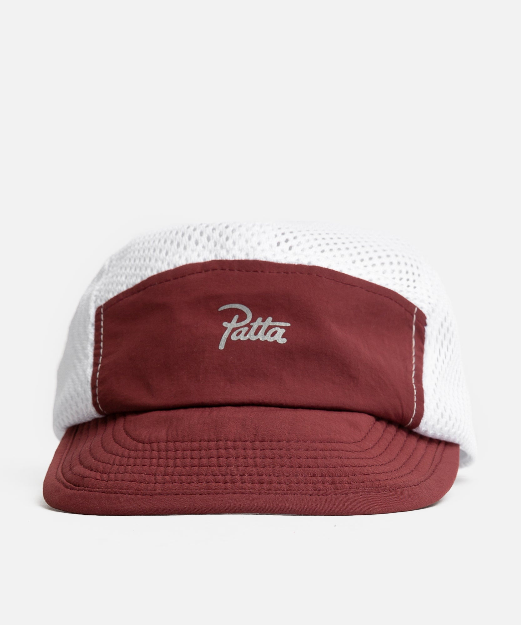 Patta Hiking Camp Hat (Pomegranate/White)