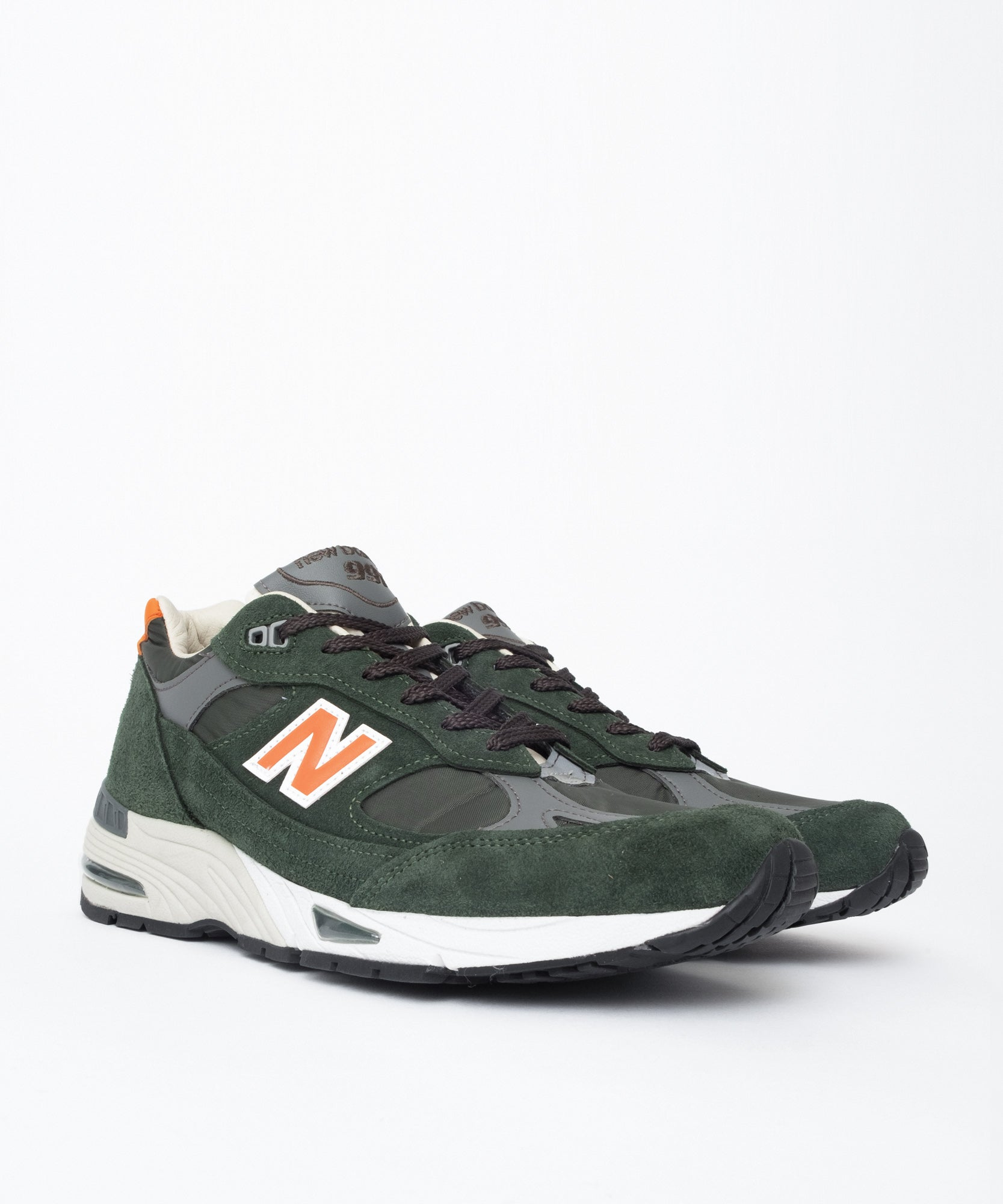 d795d9a7deffd NewBalanceM991TNF(Green/Orange)