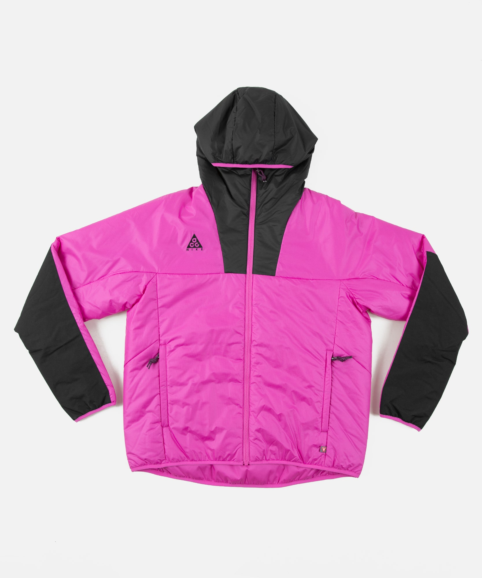 Nike ACG PrimaLoft® Hooded Jacket Fuchsia Black | Footshop