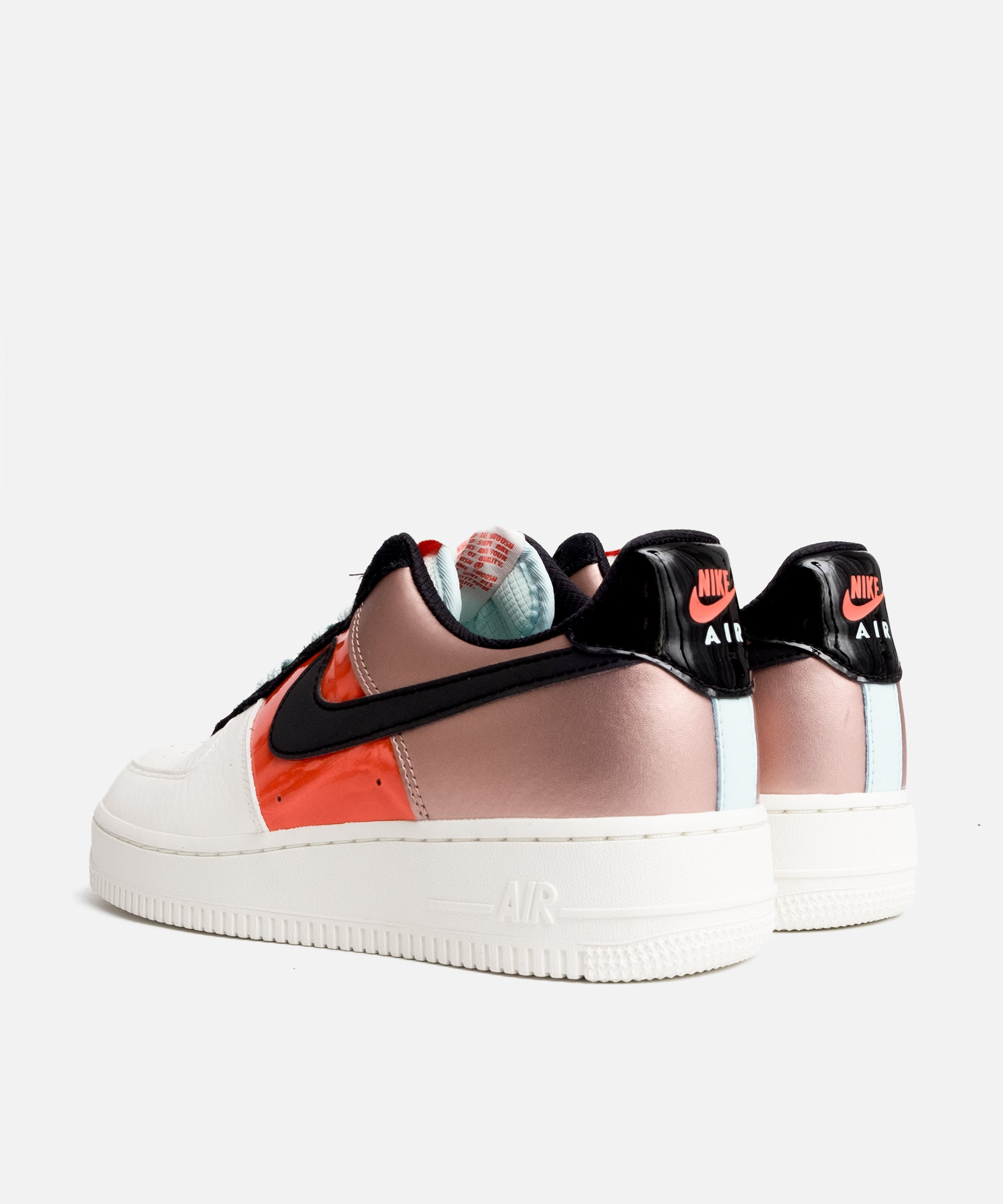 NIKE Air Force 1Lo mtlc redbronzeblack teal tint Low Top