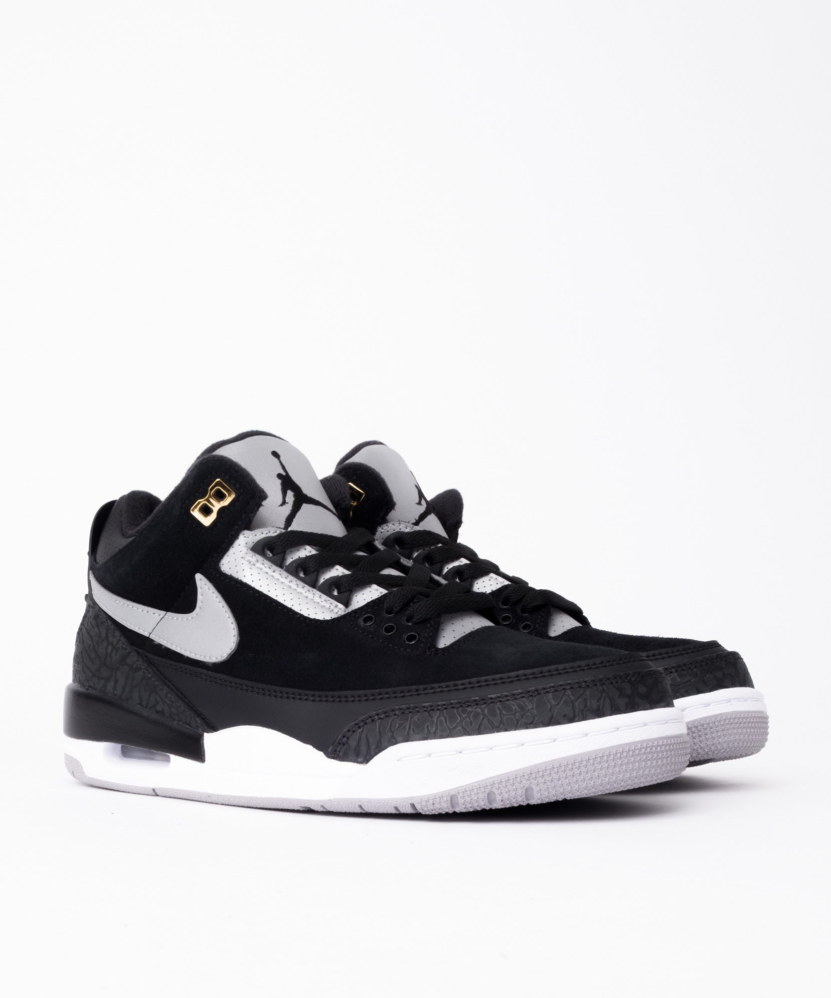 new concept 15913 d9fa0 Nike Air Jordan 3 Retro TH (Black/Cement Grey-Metallic Gold)