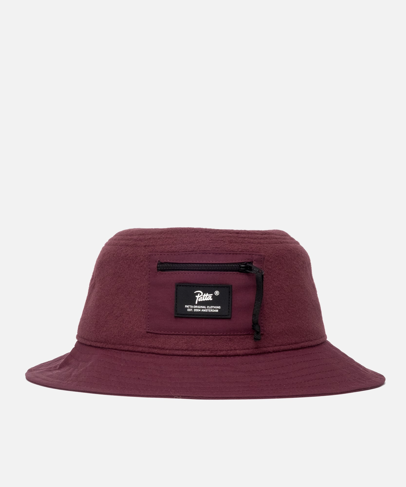Patta Polartec Bucket Hat (Port Royal/Eggplant)